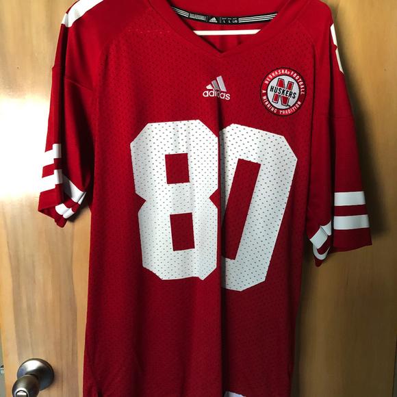 huge selection of 48f81 579ad University of Nebraska Cornhuskers Football Jersey